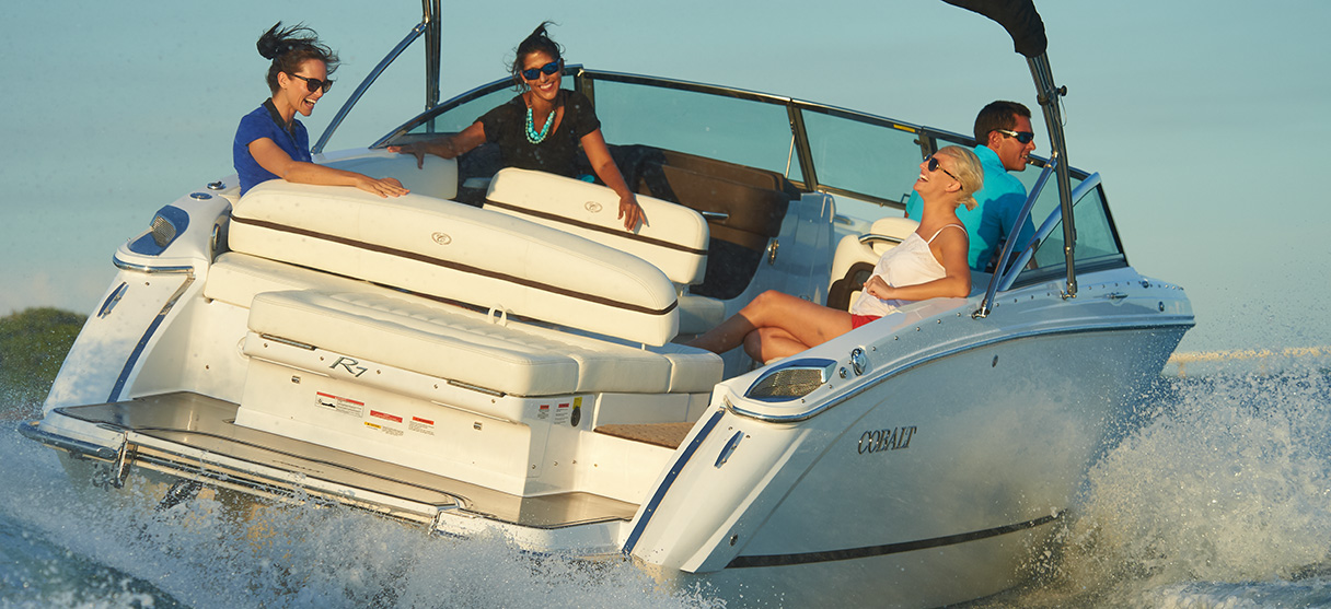 Cobalt R Series R7 Making Right Turn with Four Passengers