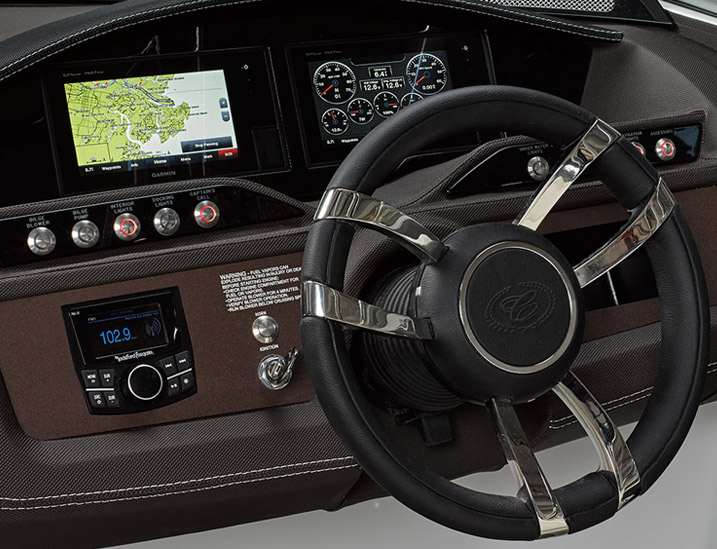 Aluminum Dash Panels, Stainless Switches, Form-Fitted Eyebrow, Glass Cockpit and GPS