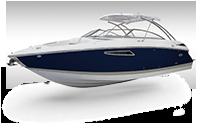 Cobalt R Series R35 Navy and Sandstone Rendering