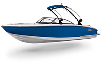 Cobalt Surf Series CS23 Marine Blue Rendering
