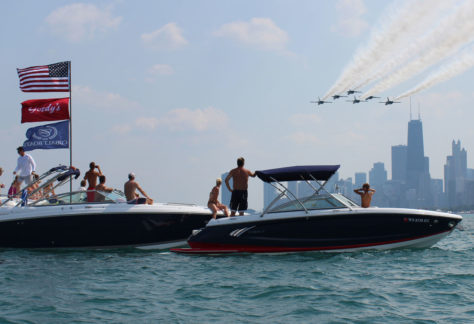 air & water show Chicago